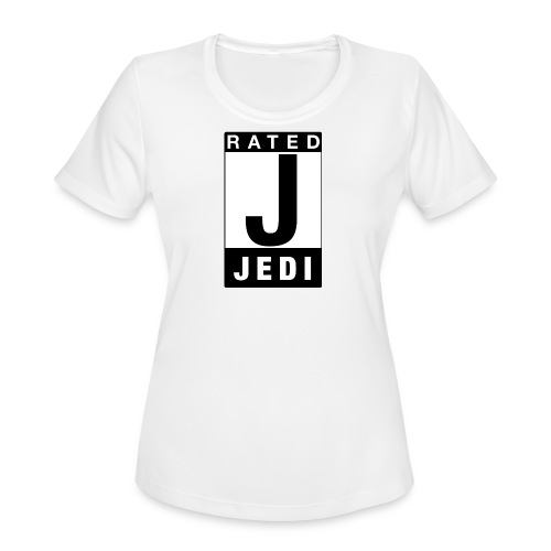 Rated Tee - Jedi - Women's Moisture Wicking Performance T-Shirt