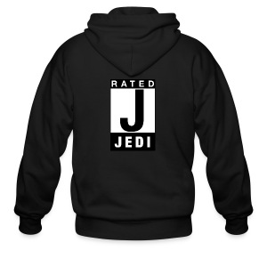 Rated Tee - Jedi - Men's Zip Hoodie