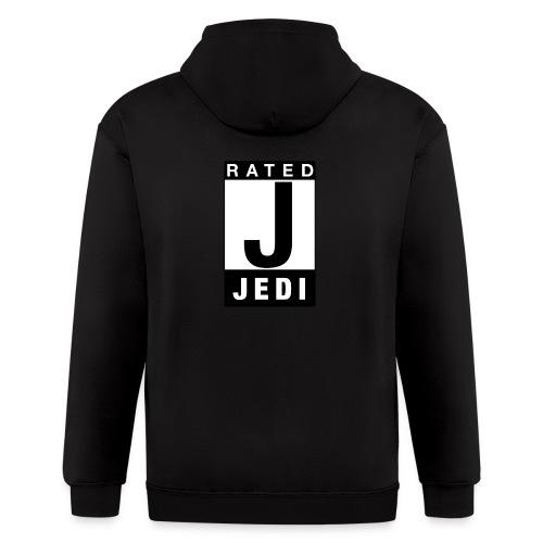 Rated Tee - Jedi - Men's Zip Hoodie
