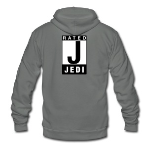 Rated Tee - Jedi - Unisex Fleece Zip Hoodie