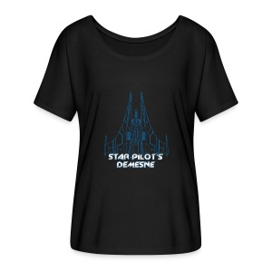 Star Pilot's Demesne Ladies Title Tee - Women's Flowy T-Shirt
