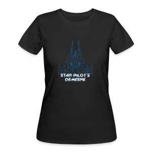 Star Pilot's Demesne Ladies Title Tee - Women's 50/50 T-Shirt