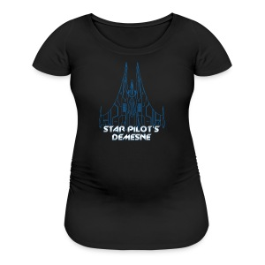 Star Pilot's Demesne Ladies Title Tee - Women's Maternity T-Shirt