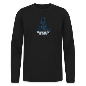 Star Pilot's Demesne Title Tee - Men's Long Sleeve T-Shirt by Next Level