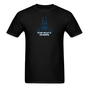 Star Pilot's Demesne Title Tee - Men's T-Shirt