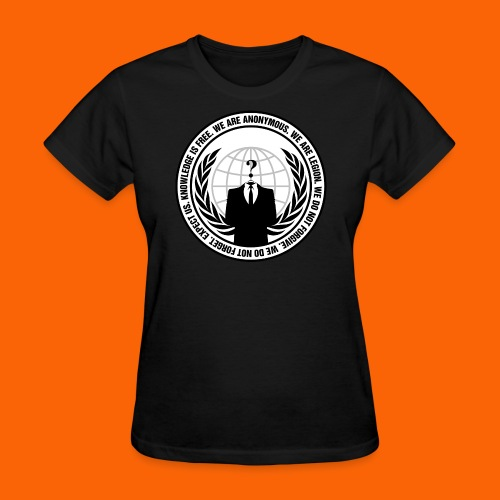 Anonymous Hacker  - Women's T-Shirt