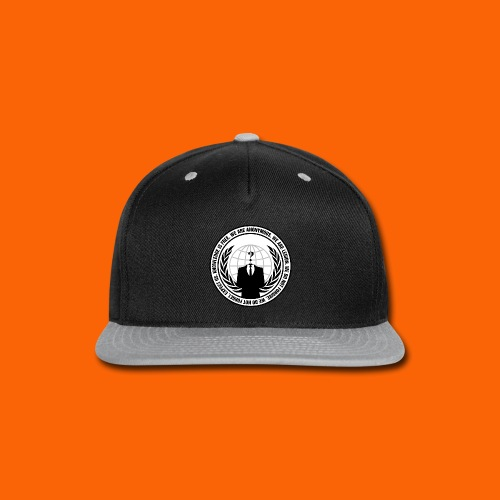 Anonymous Hacker  - Snap-back Baseball Cap