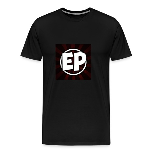 Ewick Plays Logo Large Black T-Shirt - Men's Premium T-Shirt
