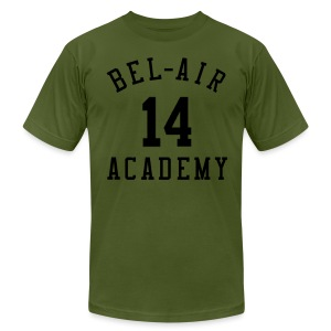 Fresh Prince: Bel-Air Academy Basketball - Men's T-Shirt by American Apparel