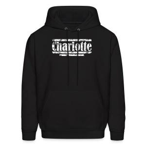 Charlotte Vintage White Hoodie - Men's Hoodie