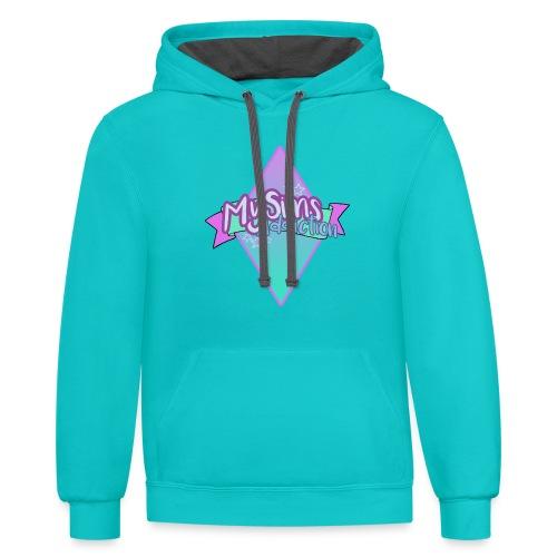 Women's MySimsAddiction T-Shirt - Contrast Hoodie