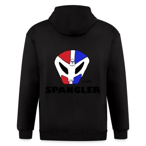 Spangler Men's T-shirt - Men's Zip Hoodie