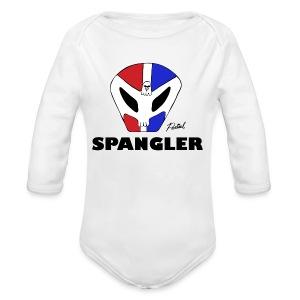 Spangler Men's T-shirt - Long Sleeve Baby Bodysuit