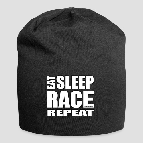 Eat Sleep Race Repeat T-Shirt - Jersey Beanie