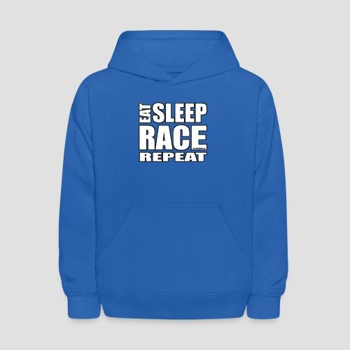 Eat Sleep Race Repeat T-Shirt - Kids' Hoodie