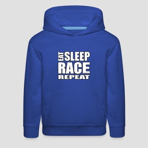 Eat Sleep Race Repeat T-Shirt - Kids' Premium Hoodie