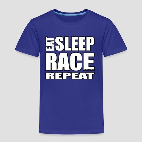 Eat Sleep Race Repeat T-Shirt - Toddler Premium T-Shirt