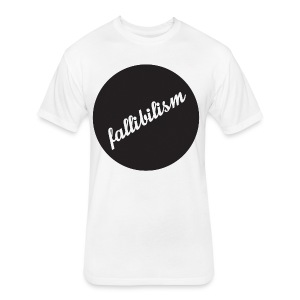 Fallibilist - Fitted Cotton/Poly T-Shirt by Next Level