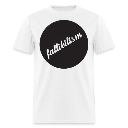 Fallibilist - Men's T-Shirt