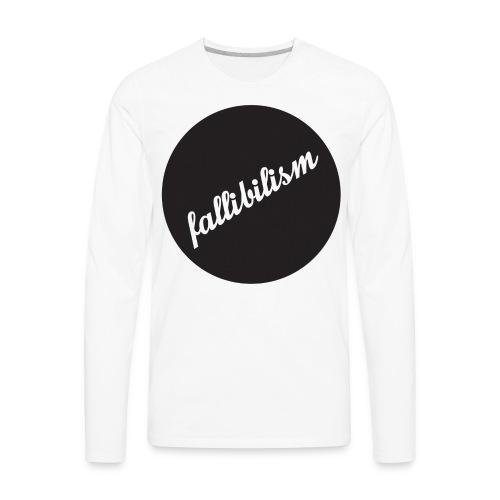 Fallibilist - Men's Premium Long Sleeve T-Shirt