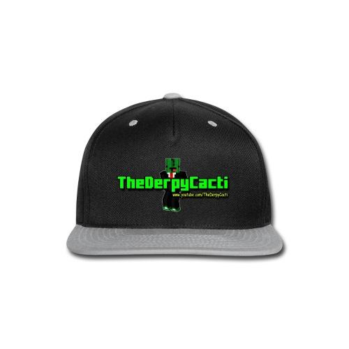 TheDerpyCacti Womens T-Shirt - Snap-back Baseball Cap