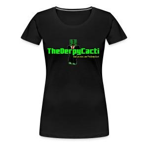 TheDerpyCacti Womens T-Shirt - Women's Premium T-Shirt