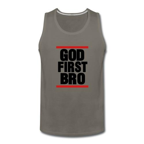 God First Bro - Men's Premium Tank