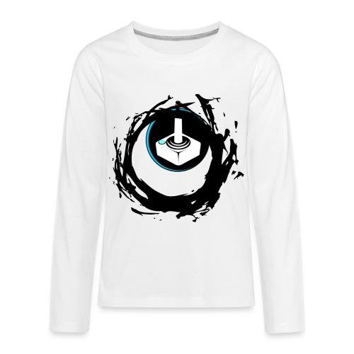 Dark Hole Games Official T-Shirt | Kid's - Kids' Premium Long Sleeve T-Shirt