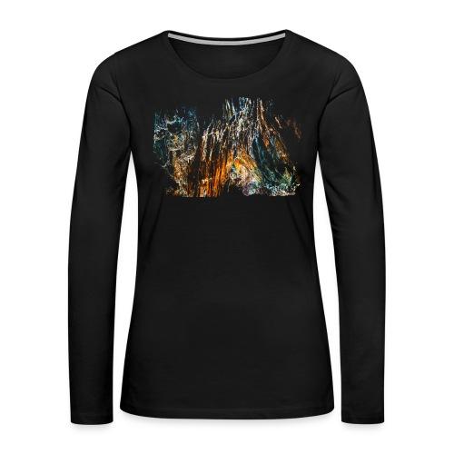 Face - Women's Premium Long Sleeve T-Shirt
