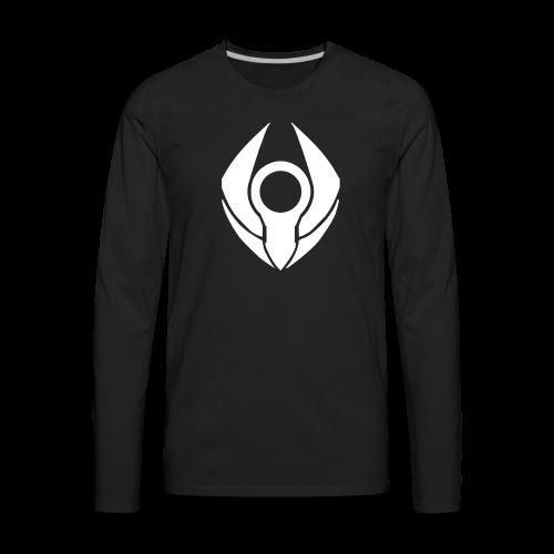 RevolvePC T-Shirt for Guys (White Logo) - Men's Premium Long Sleeve T-Shirt