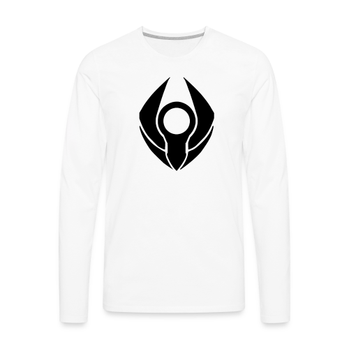 RevolvePC T-Shirt for Guys (Black Logo) - Men's Premium Long Sleeve T-Shirt