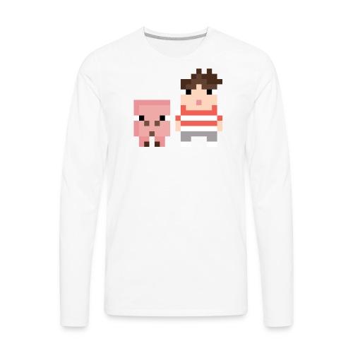 Champions Song T-Shirt - Men's Premium Long Sleeve T-Shirt