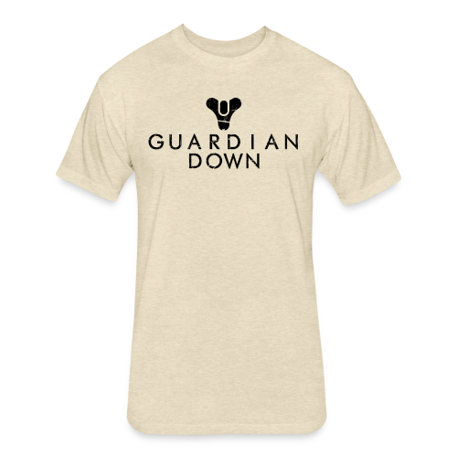 Guardian Down - Fitted Cotton/Poly T-Shirt by Next Level