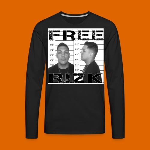 Free Rizk TEE - Men's Premium Long Sleeve T-Shirt