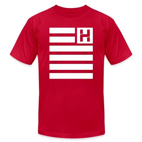 Hoodie Hazey Flag - Men's Fine Jersey T-Shirt