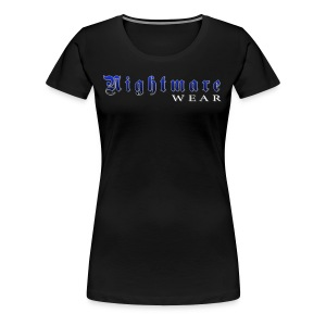 Nightmare Wear Logo - Women's Premium T-Shirt