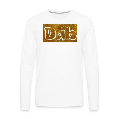 Dab Raglan - Men's Premium Long Sleeve T-Shirt