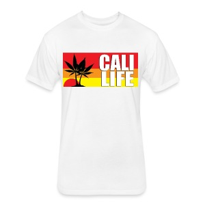 CALI LIFE Men's Classic Gildan T-Shirt - Fitted Cotton/Poly T-Shirt by Next Level