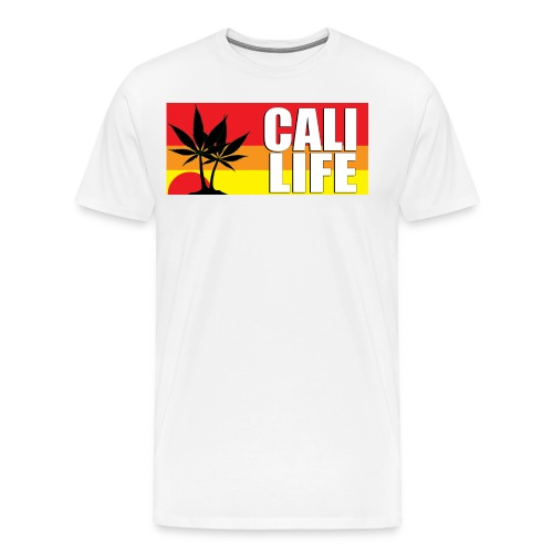 CALI LIFE Men's Classic Gildan T-Shirt - Men's Premium T-Shirt