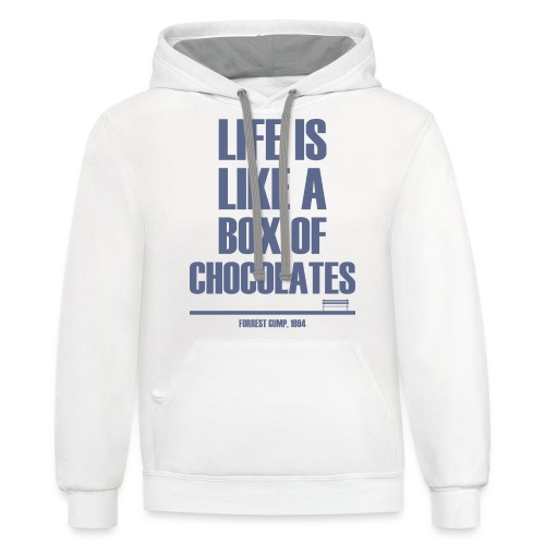 Forrest Gump - Box Of Chocolates - Contrast Hoodie