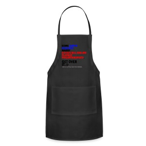 Superhusbands/Stony Against H8 - Tote Bag - Adjustable Apron