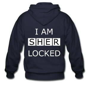 Sherlocked - Men's T-shirt - Men's Zip Hoodie