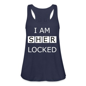 Sherlocked - Men's T-shirt - Women's Flowy Tank Top by Bella