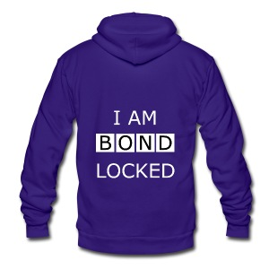 Bondlocked - Tote Bag - Unisex Fleece Zip Hoodie by American Apparel