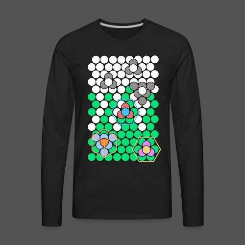 Crystal Lattice - Men's Premium Long Sleeve T-Shirt