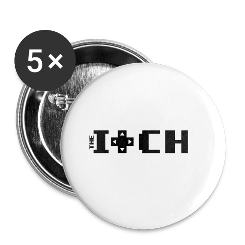 The Itch Coffee Mug Large Print - Small Buttons