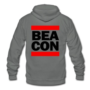Beacon (Black Font) - Women's Hoodie - Unisex Fleece Zip Hoodie by American Apparel