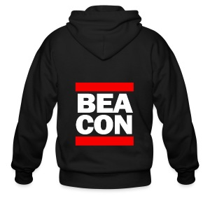 Beacon (White Font) -Tote Bag - Men's Zip Hoodie