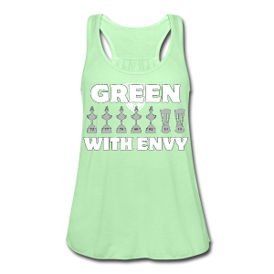 Cosmos: Green with Envy - Men's T-Shirt - Women's Flowy Tank Top by Bella