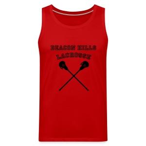 MCCALL Beacon Hills Lacrosse - Men's Hoodie - Men's Premium Tank